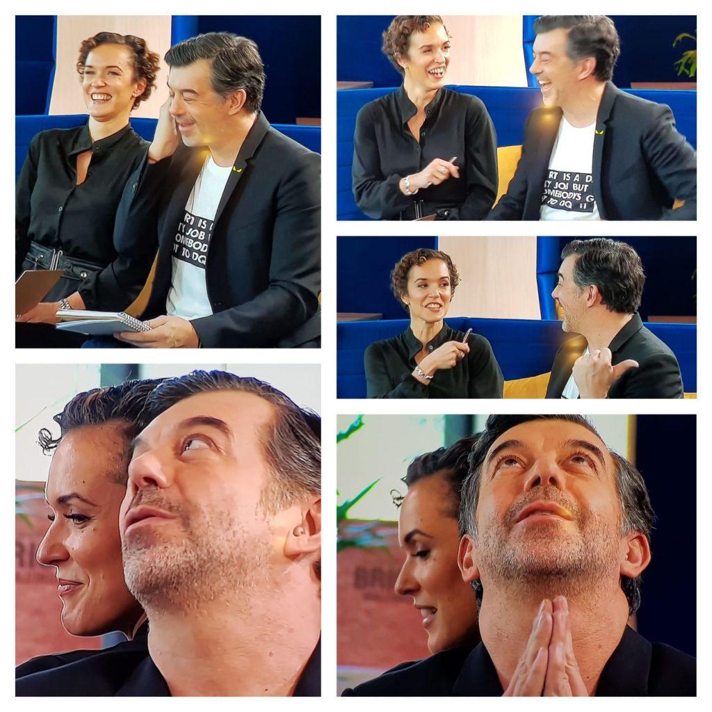 Gersende et Stephane Plazza